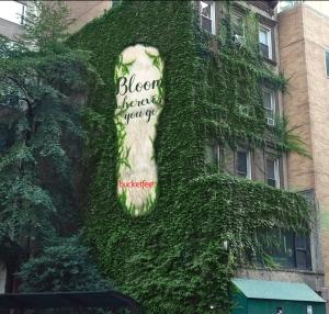 Bucketfeet Ambient Advertisement