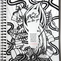 Bucketfeet Pen and Ink Advertisement