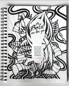 Bucketfeet Pen and Ink Advertisement