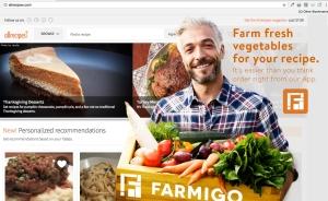 Farmigo Banner Ad