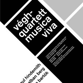 Végh-Quartett Musica Viva Poster