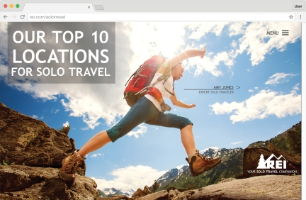 REI Microsite Home Page