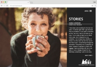 REI Microsite Stories Page