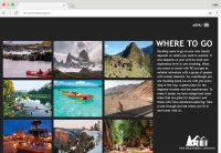 REI Microsite Where To Go Page